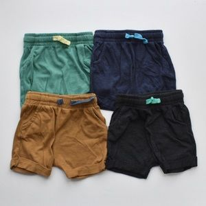 4 Pack Toddler Boys' Pull-on Shorts - Cat & Jack